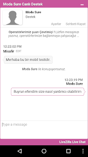 Moda Sure - screenshot