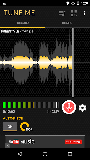 Tune Me — PRO Key - screenshot