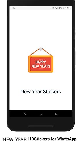 New Year Stickers (WAStickerApps) screenshot 1