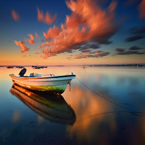 Recess by Hendri Suhandi - Landscapes Waterscapes ( shore, bali, bay, sunrise, beach )
