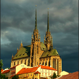 Brno by Irena Brozova - City,  Street & Park  Historic Districts