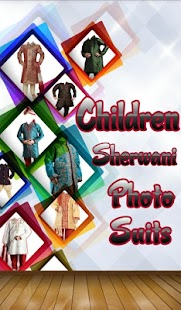 Children Sherwani Photo Suit - screenshot