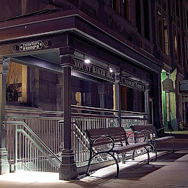The underground by Michael L'Heureux - City,  Street & Park  Historic Districts