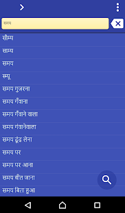 Hindi Tamil dictionary - screenshot