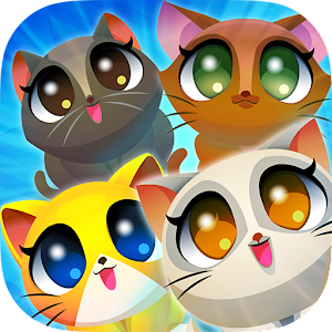 Cute Cats Match 4 Icon