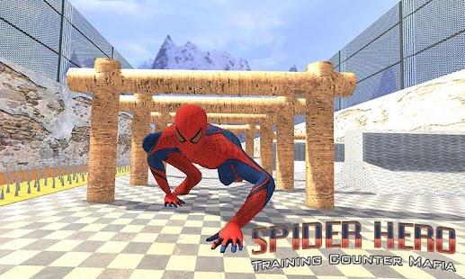 Spider Hero Training Counter Mafia