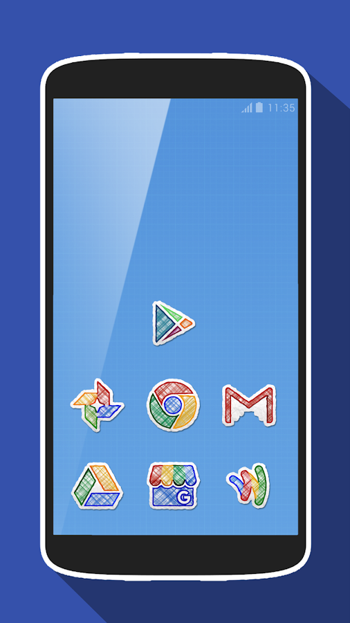 Doodle Draw Icon Pack Screenshot 0
