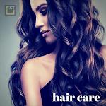 Hair Care - Dandruff, Hair Fall, Black Shiny Hair Icon