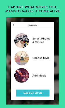 Magisto Video Editor & Maker APK screenshot thumbnail 2