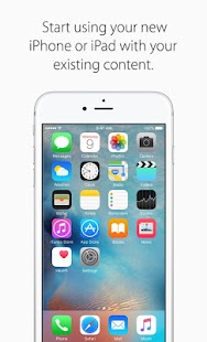 Move to iOS Screenshot