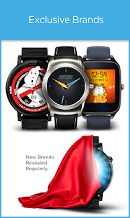 Facer Android Wear Watch Faces Screenshot