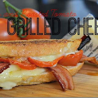 Bacon and Roasted Tomato Grilled Cheese Sandwich