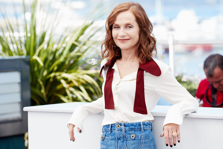 Actress Isabelle Huppert attends the 'Claire's Camera (Keul-Le-Eo-Ui-Ka-Me-La)' photocall during the 70th annual Cannes Film Festival