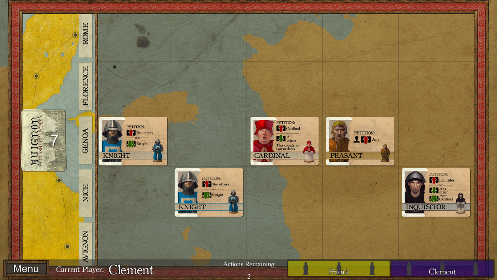 Avignon: A Clash of Popes Screenshot 1