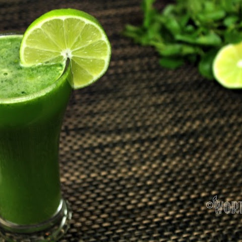 Pineapple Cucumber Watercress Ginger Lime Juice