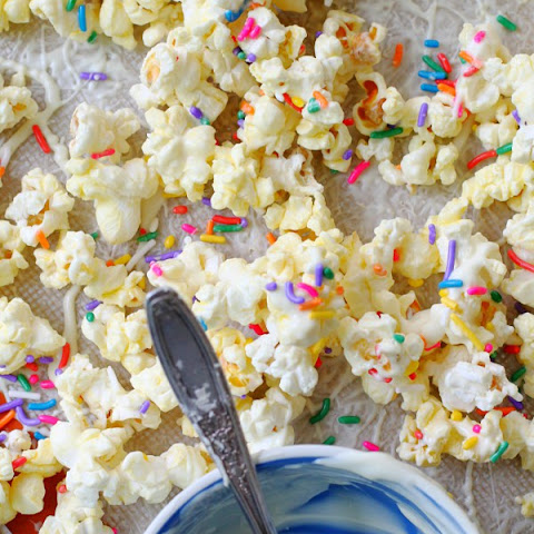 Teacher Gift White Chocolate Coated Popcorn