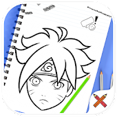 How to draw naruto ✍