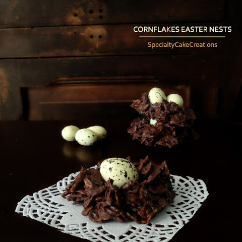 Chocolate Cornflakes Easter Nests