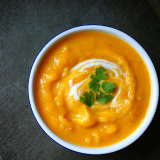 Creamy Butternut Squash Soup with Smoked Paprika