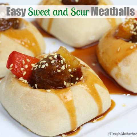 Easy Sweet and Sour Meatball