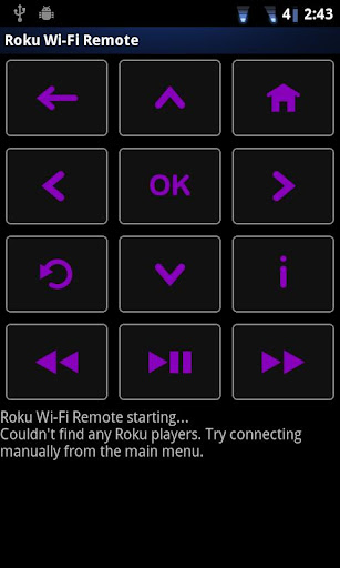 Rfi pro! remote for Roku screenshot 1