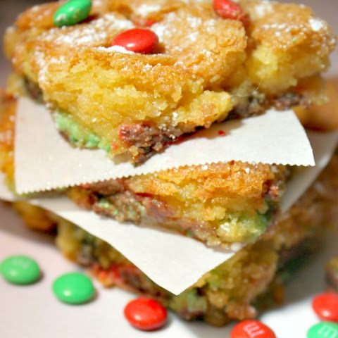 Easy Holiday Cake Cookie Bars