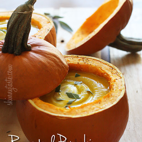 Roasted Pumpkin Sage Soup