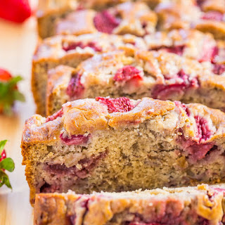 Strawberry Banana Bread Sour Cream Recipes
