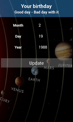Lucky Calendar 2016 - screenshot