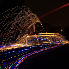 by George Krieger - Abstract Light Painting