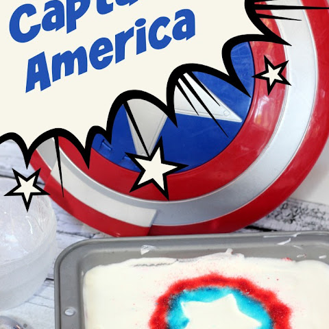 Patriotic Jello Swirl Ice Cream