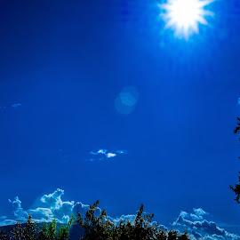 sonce by Dušan Gajšek - Landscapes Cloud Formations ( _mesta, park, maribor )