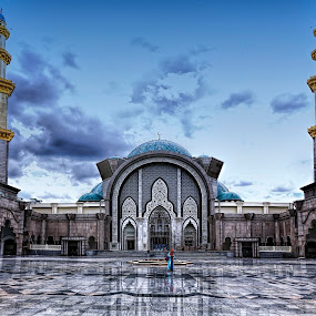 Masjid Wilayah by Lolit Whorlow - Buildings & Architecture Places of Worship ( #mosque )