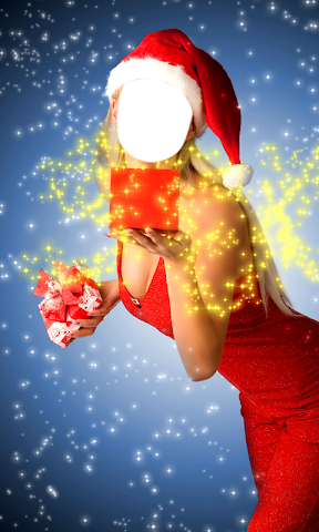 android Christmas Dress Photo Montage Screenshot 6