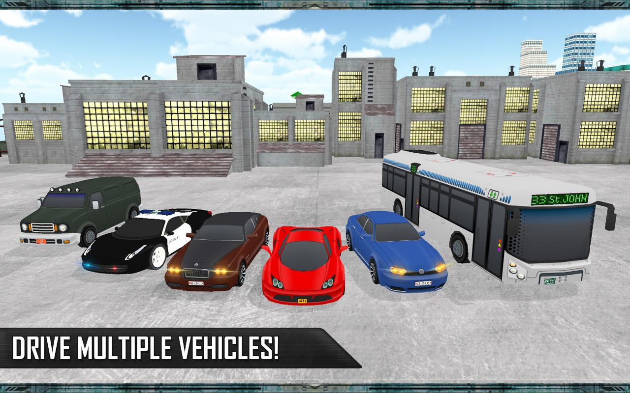 Grand Car Chase Auto Theft 3D Screenshot 11