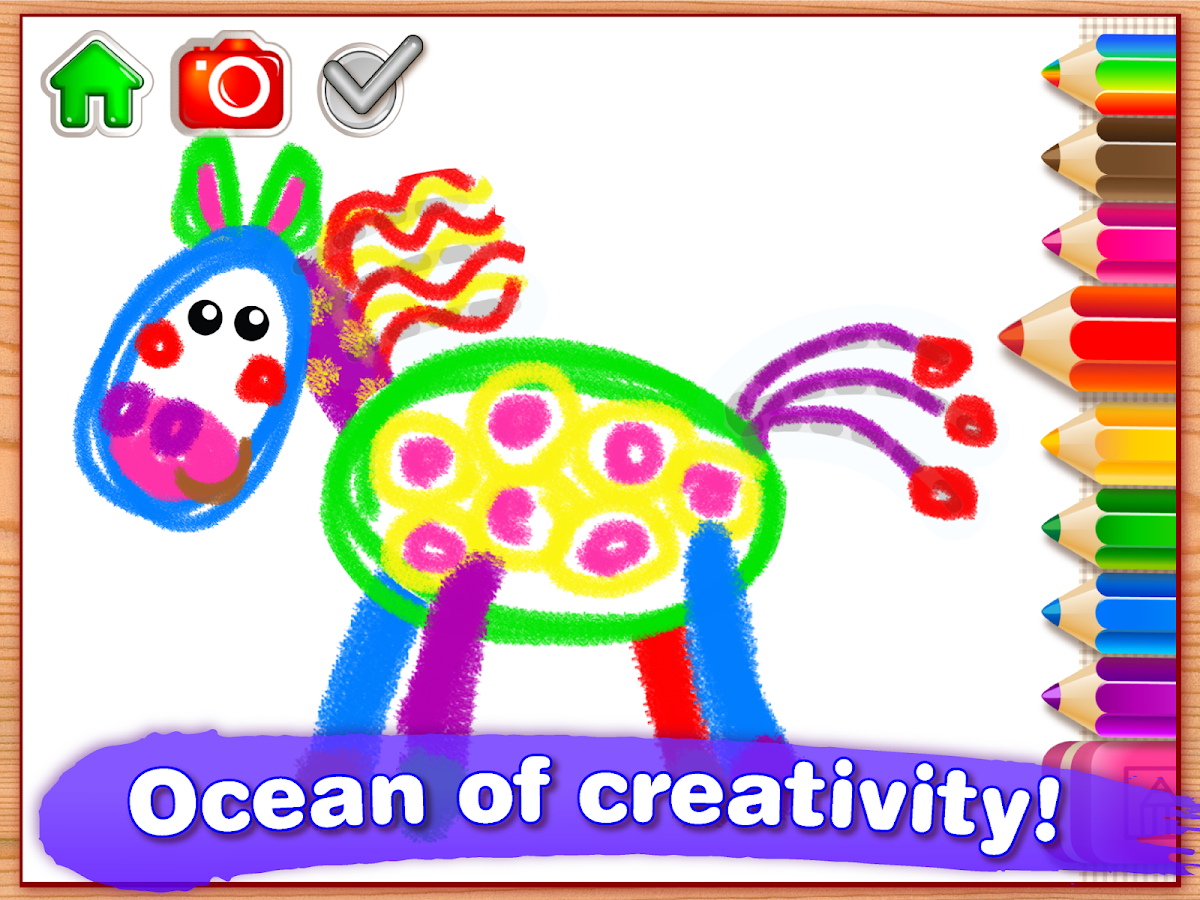 Drawing for Kids & Toddler PRO Screenshot 9
