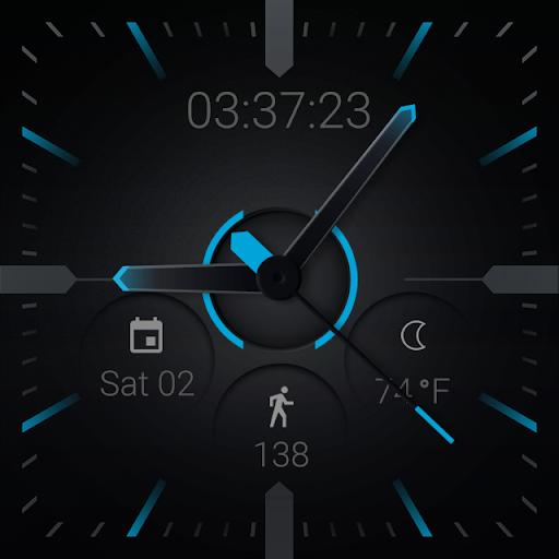 Stealth360 Watch Face - screenshot