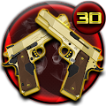 Free Golden Gun 3D Theme APK for Windows 8