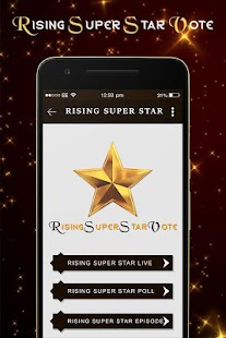 Rising Super Star Vote 2018