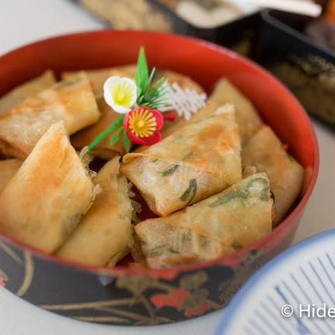 Japanese Vegetable Spring Rolls (Harumaki) are Great as an Appetizer or Meal!