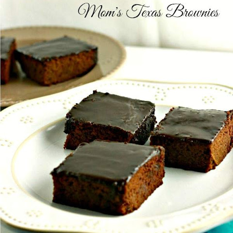 Mom's Texas Brownies, grain free