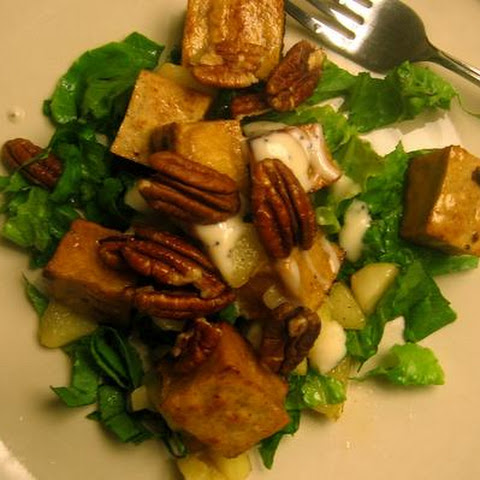 Caramelized Tofu & Gala Apple Salad