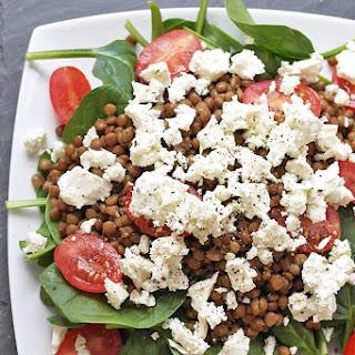 Spinach Tomato Feta Salad Recipes