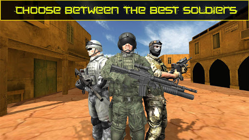 US Army Frontline Special Forces Commando Mission For PC