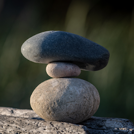 by Keith Sutherland - Artistic Objects Other Objects ( stack, rocks, stones )