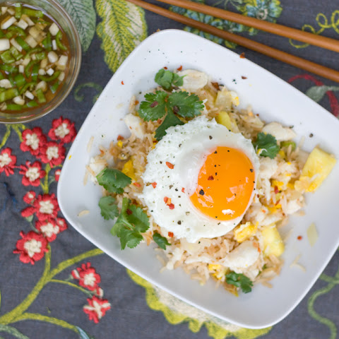 Pineapple and Crab Fried Rice