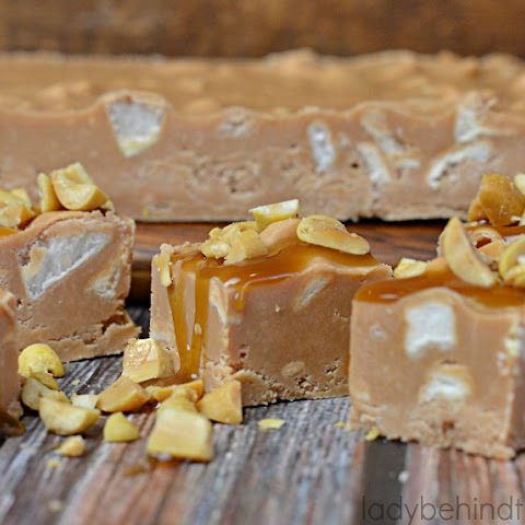 5 Minute Caramel Apple Fudge