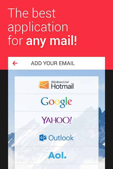 myMail—Free Email Application screenshots