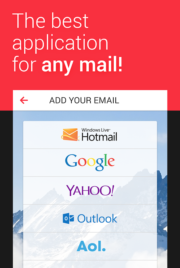myMail—Free Email Application Screenshot 0