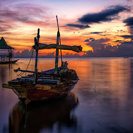 Wake up in the morning by Agus Sudharnoko - Transportation Boats
